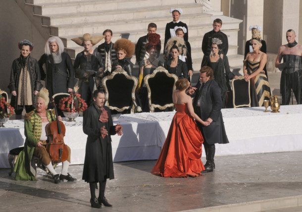 "Salzburger Festspiele are one of Austrias most renowned festivals with the Highlight Hugo von Hofmannsthal's ""Jedermann"""